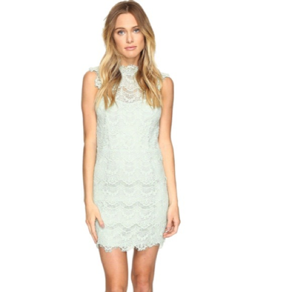 Free People Dresses & Skirts - NEW Free People Daydream Bodycon Lace Slip Dress